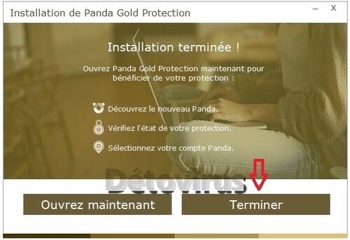 Panda Gold Protection 2016 - Licence 6 mois gratuits