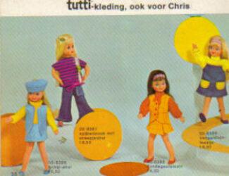 Barbie Tutti : livret - booklet - publicités