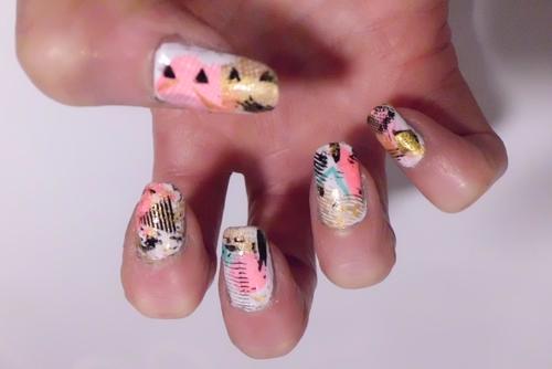 nail art pop
