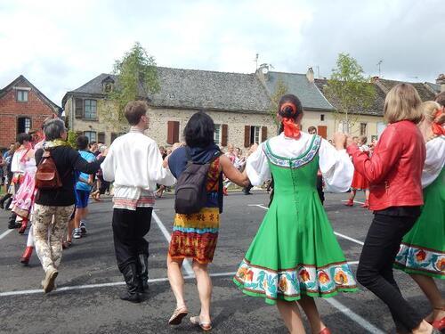 Les fêtes de la St Barthélemy et de la fouace à Najac
