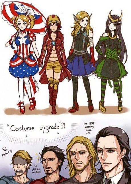 Une nouvelle vision d'Avengers