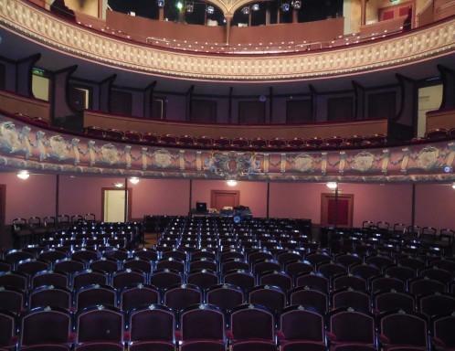Théâtre à l'italienne de Morlaix