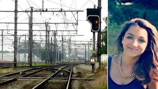 Charlotte Nunez est morte à l'âge de 12 ans, happée par un train. © AFP/Page Facebook hommage à Charlotte Nunez