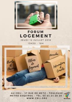 Forum logement au CRIJ