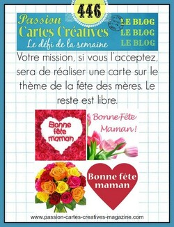 Passion Cartes Créatives #446