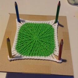 DIY crochet : bloquer des grannies