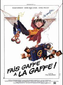 BOX OFFICE FRANCE 1981 FAIS GAFFE A LA GAFFE