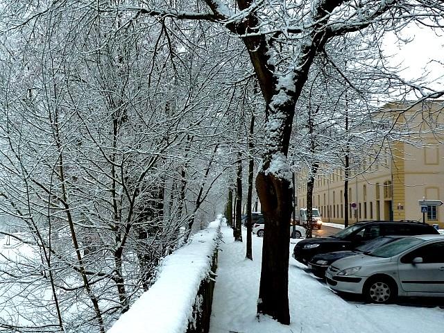 Metz sous la neige 14 Marc de Metz 16 02 2013