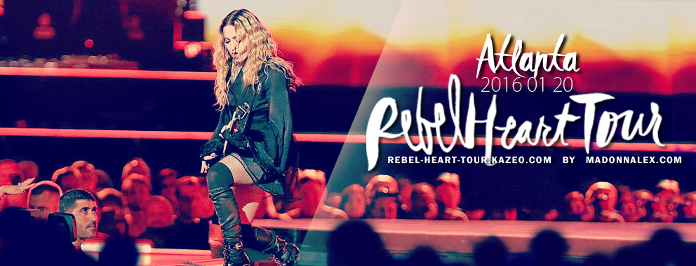 Rebel Heart Tour Atlanta