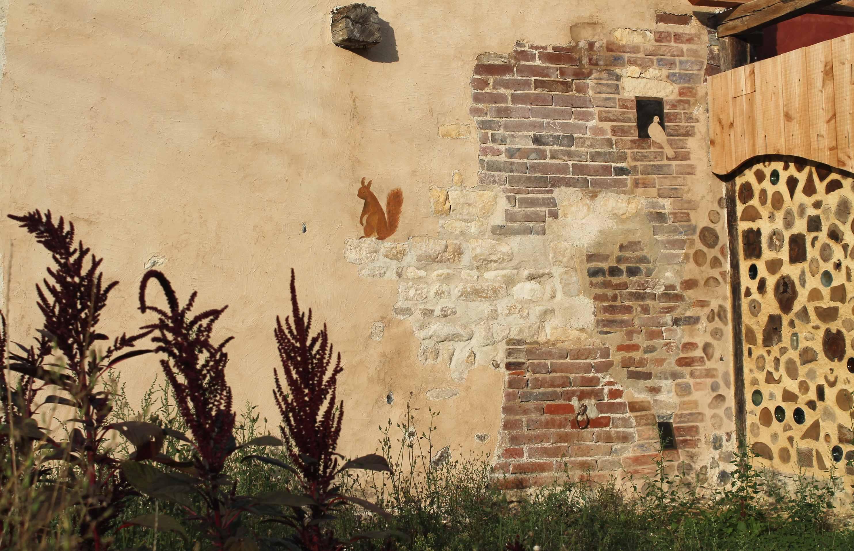 Fresque sur le mur