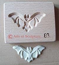 Cuisine créative, scrapcooking: moule chauve-souris - Arts et Sculpture: sculpteur sur bois