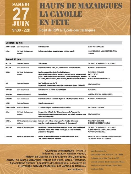 Fête à La Cayolle 26 & 27 Juin 2015