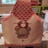 Rose sac pour pinces à linge