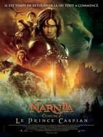 Le Monde de Narnia Le Prince Caspian affiche