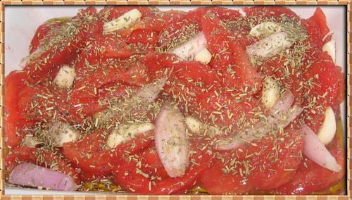 Pétales de Tomates Confites à ma Façon