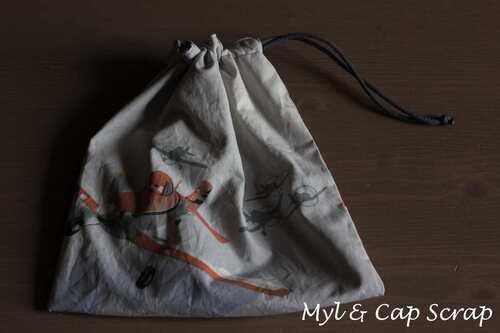 Mylène - Couture : Un sac baluchon