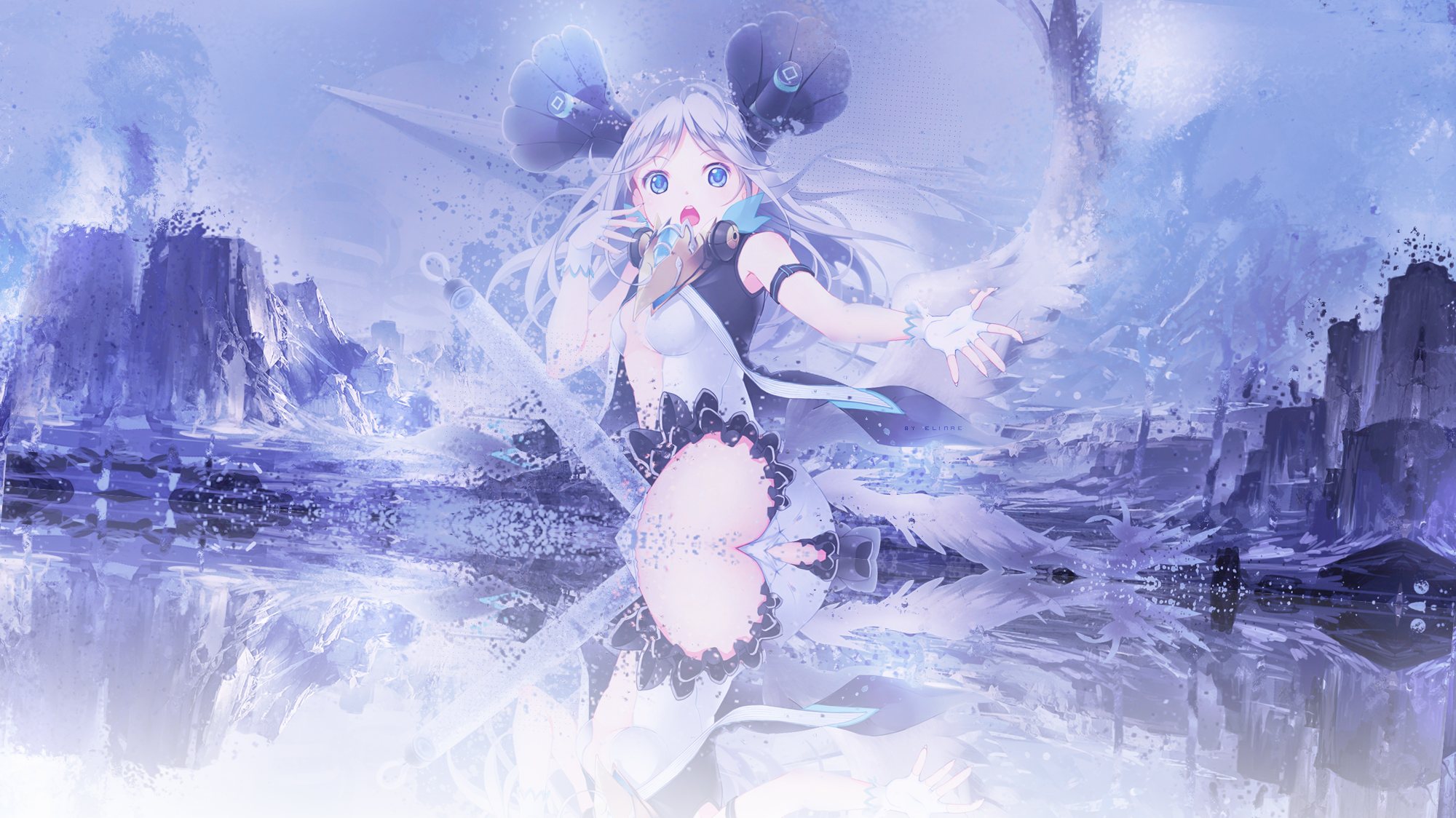 Wallpaper fille/ange