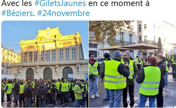 GILETS JAUNES : la tentative de récupération politique de l'extrémiste islamophobe ménard maire de béziers