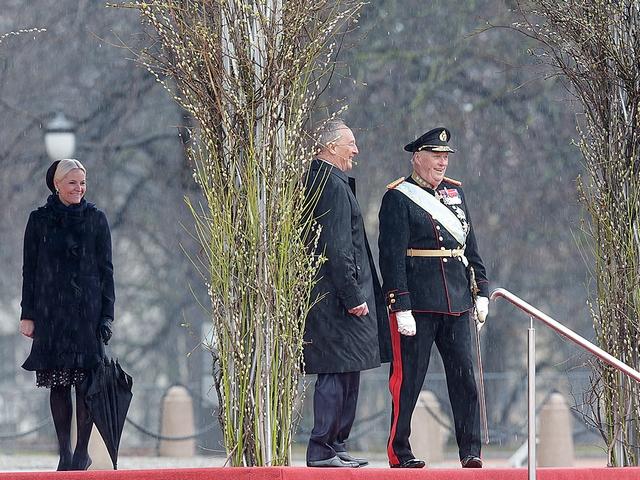 Le président de  Lettonie