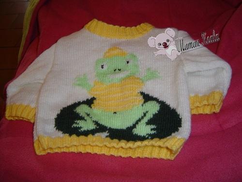 Pull_grenouille_bébé