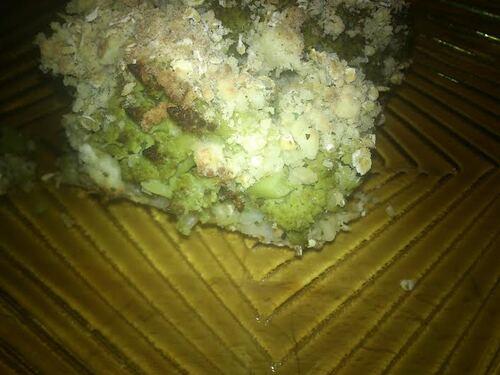 Crumble aux 2 choux et au riz