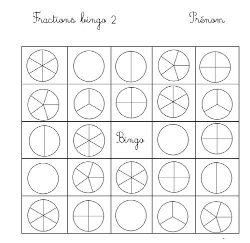Bingo fractions (jeux)