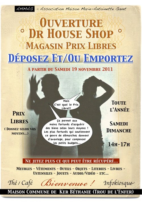 Affiche Dr House Shop