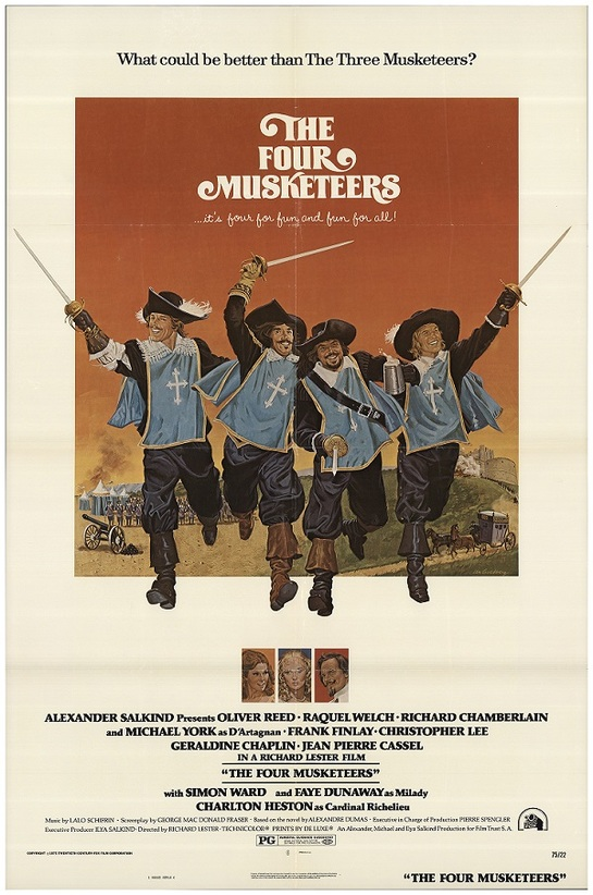 THE FOUR MUSKETEERS box office USA 1975