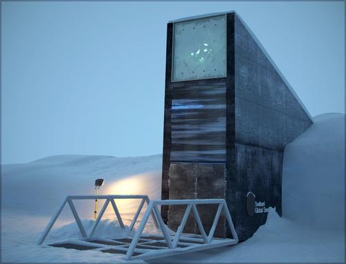 La chambre forte de Svalbard