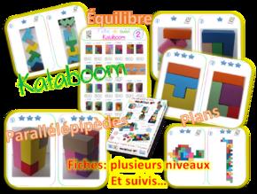 Kataboom -Atelier- fiches et suivi
