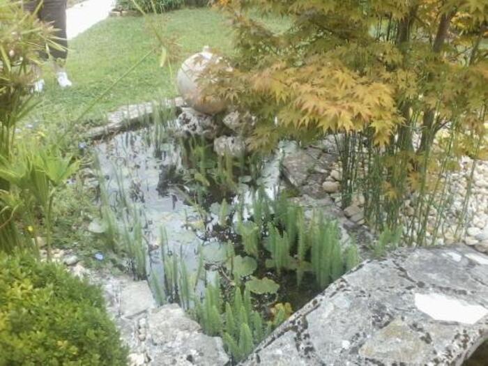 pour un mois d'octobre il fait presque 30 degrès et les jardin sont magnifiques