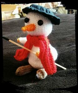 Bonhomme de neige - bricolage pour enfants sages