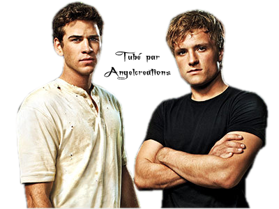 Peeta et Gale Hunger games