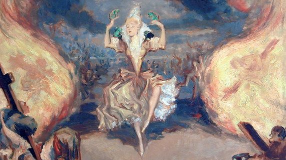 Sorcières - la dame de Martiabalsarena danse José de la P