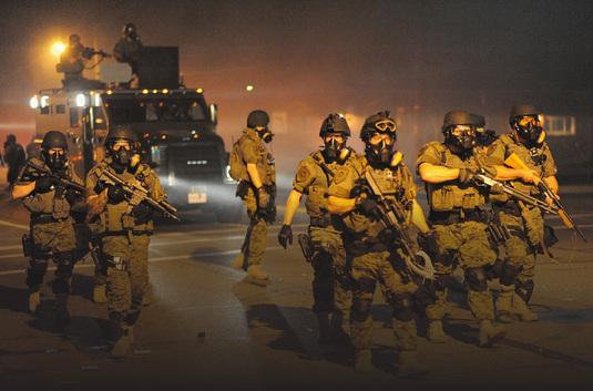 MILITARISATION DE LA RÉPRESSION DES OUVRIERS - La face cachée de la répression aux USA