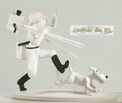 N° 4 Hors-série figurines Tintin