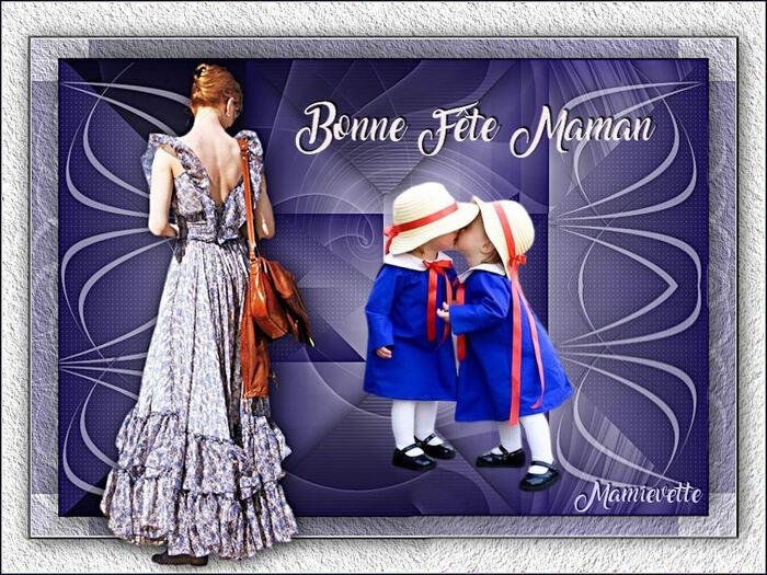 Bonne fête à toutes les mamans françaises et bon week-end !