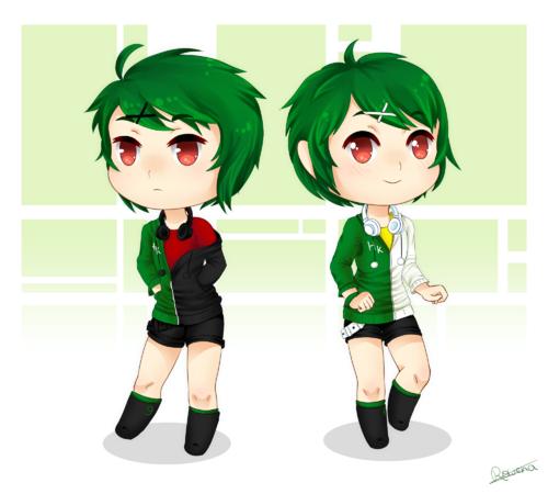 chibi twins