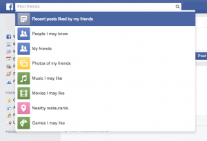 Le Facebook Graph Search
