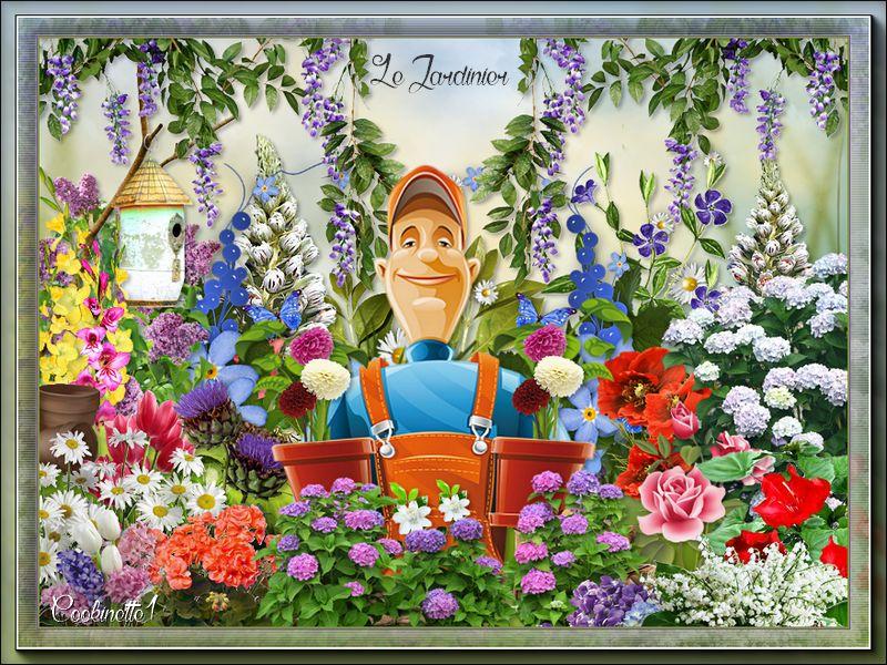 Pour marjolaine : Le jardinier