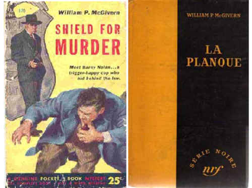 Le bouclier du crime, Shield for murder, Edmond O'Brien & Howard W. Koch, 1954