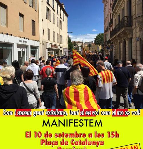 A propos de la manifestation à Perpignan le 10 septembre 2016 : « L'avenir n'est pas au morcellement ethnique de la France dans le cadre d'un Empire euro-atlantique du grand capital »