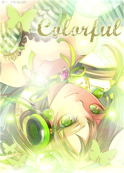 [création] colorful