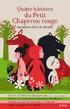 """Résultat de recherche d'images pour """"4 histoires du monde du petit chaperon rouge"""""""