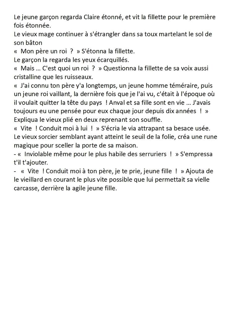 [La Princesse Chat] Chapitre 2 : Bois d'Enfance