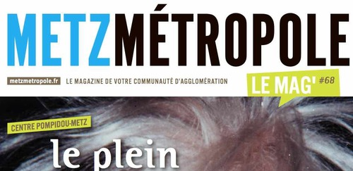 Metz Métropole le mag' de mai 2015