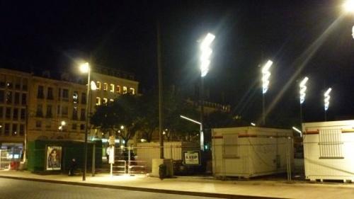 Place de la République ou stade de foot ? (9 septembre 2010)