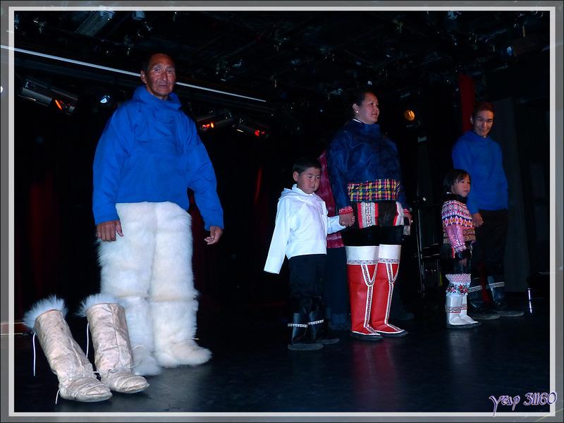 Dans le théâtre de l'Austral - Kullorsuaq - Groenland