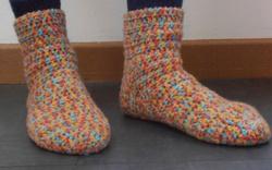 Chaussettes colorées photo1