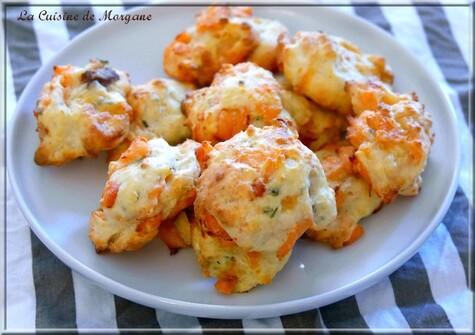 Cookies salés au saumon et fromage frais